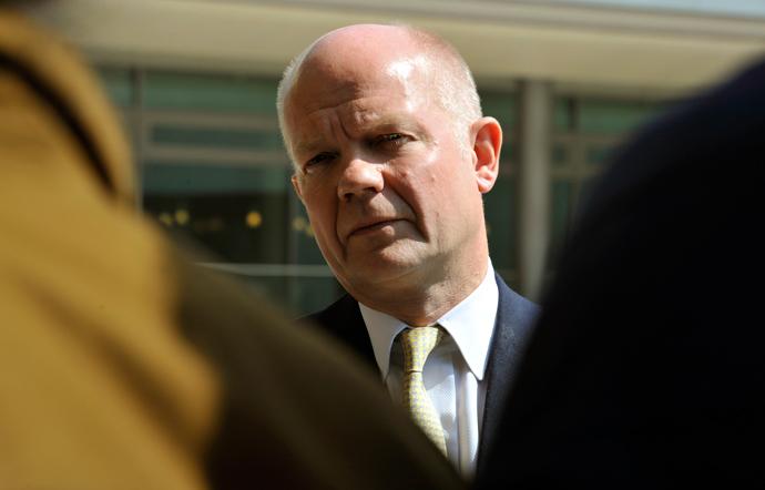William Hague (AFP Photo / Georges Gobet)