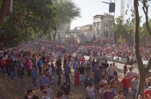 Gezi Part protest: June 1st 2013 Source: Wikimedia Commons