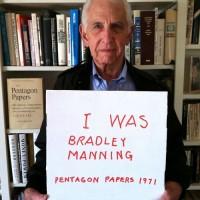 (Daniel Ellsberg. Courtesy: I Am Bradley Manning site.)